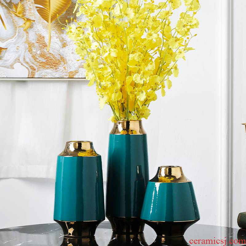 I and contracted style key-2 luxury light ceramic vase household TV ark, place of the sitting room porch table decoration decoration