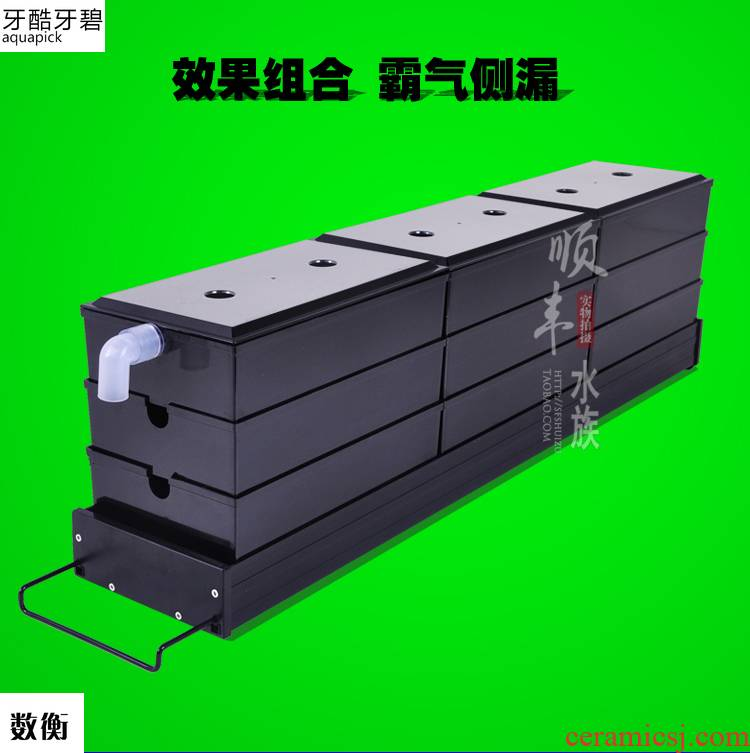The Big box trickle filters box upper bracket aquarium aquarium filter tank aluminum base plate model steel chassis