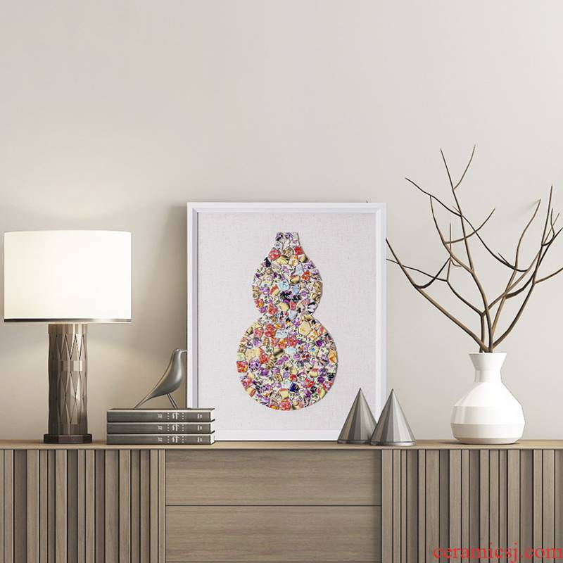 Ceramic painting I and contracted sitting room sofa background wall painting creative it hang a picture to decorate the new Chinese style restaurant