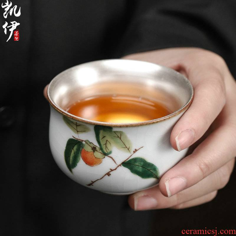 Start your up coppering. As 999 silver cup sample tea cup of jingdezhen ceramic tea cup tea cup silver cup cup