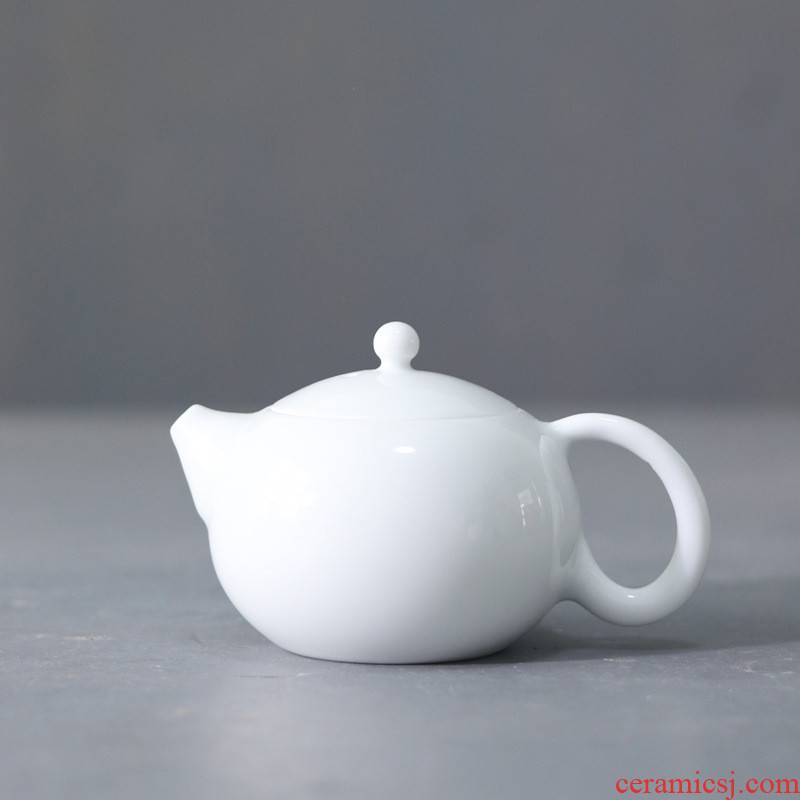 Poly real scene of jingdezhen porcelain ceramic teapot gentleman pot teapot shih pot enterprises customize LOGO decals