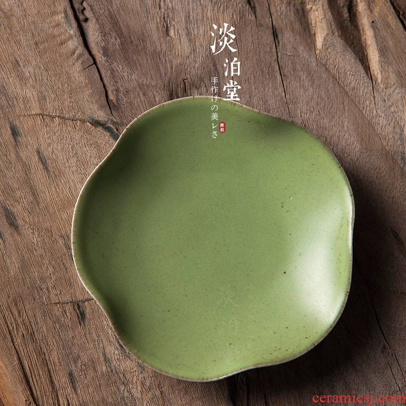 Poly real scene of jingdezhen ceramic cup mat kung fu tea set fruit - green origin sourcing parts manual knead characteristics