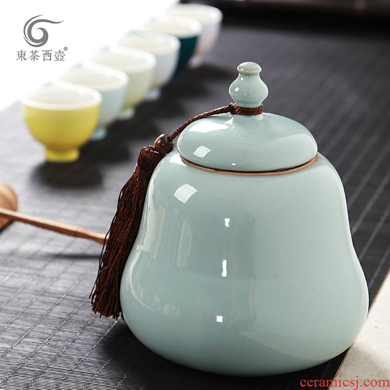 Shadow enjoy ceramic seal as cans of tea packaging puer tea pot undressed ore your up caddy fixings large DCXH masterpieces