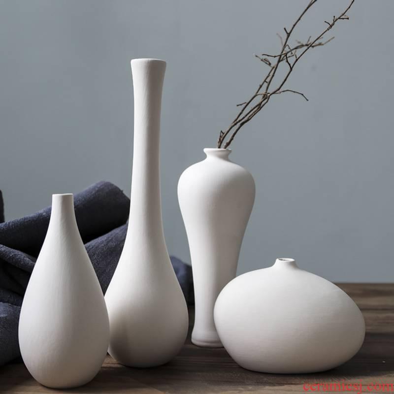 Ceramic element billet semi - finished vase decoration furnishing articles filial children 's diy graffiti made white made white embryos