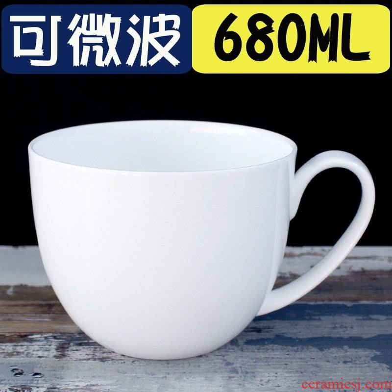 Ipads China large capacity keller cup of oatmeal for breakfast cup with microwave ceramic bowl with cover run out of water glass