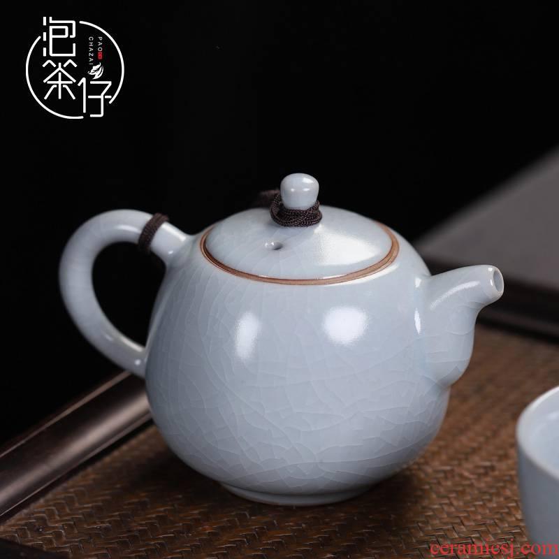 Tea seed your up single pot can keep the teapot on small xi shi pot of ceramic filter kung fu Tea set your porcelain household