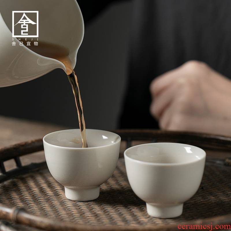 """The Self - """"appropriate physical plant ash Japanese kung fu master of jingdezhen ceramic cups cup cup sample tea cup but small tea cups"""