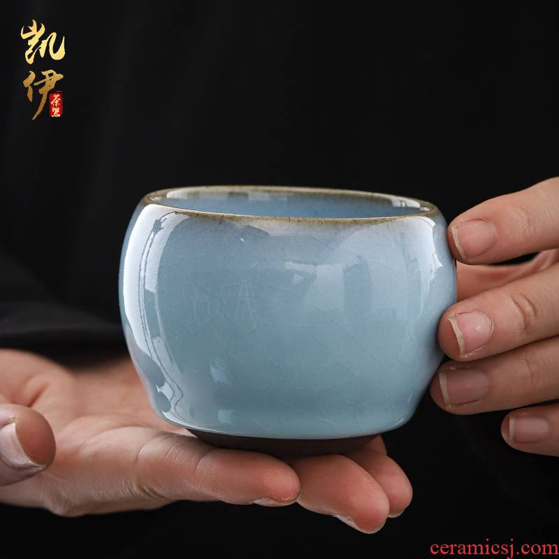 Patrick ho chi - ping master hand piece for up to leave but your porcelain cups have kung fu tea set single glass ceramic sample tea cup