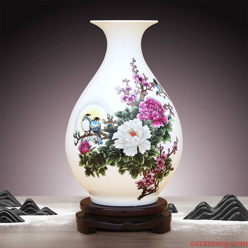 The famille rose porcelain okho spring to industry