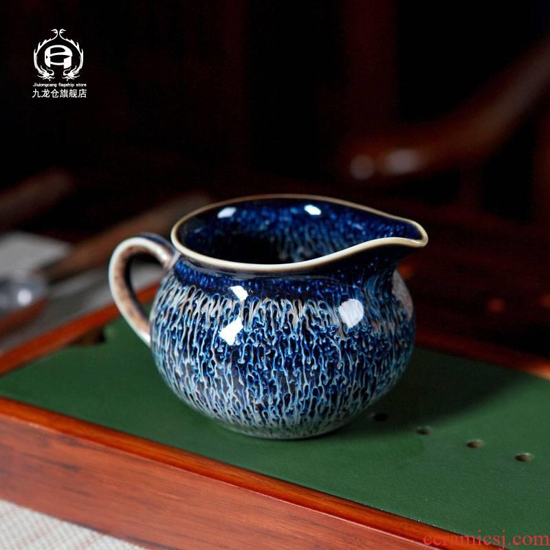 Jingdezhen up with Jingdezhen ceramic tea red glaze, the kung fu tea accessories fair keller cup domestic cups