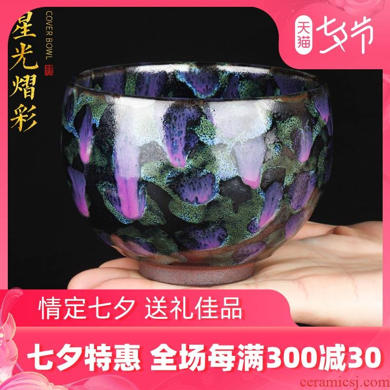 The Master artisan fairy hand built one Master cup be ceramic household fambe kung fu tea sample tea cup single cup, cups