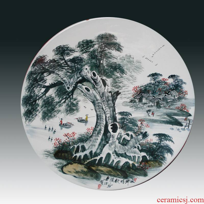 Jingdezhen special promotional ceramic porcelain table table suit high - end is suing is suing garden park outfit
