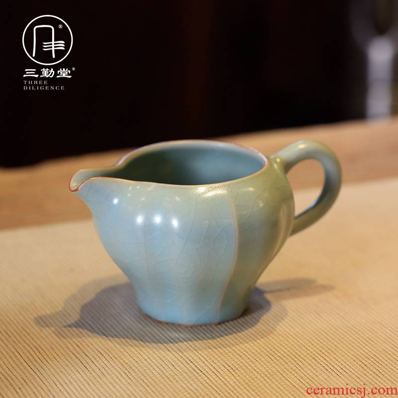Three frequently hall to open the slice your up with jingdezhen ceramic fair keller kung fu tea tea set points sea S34002 greedy. A cup of tea