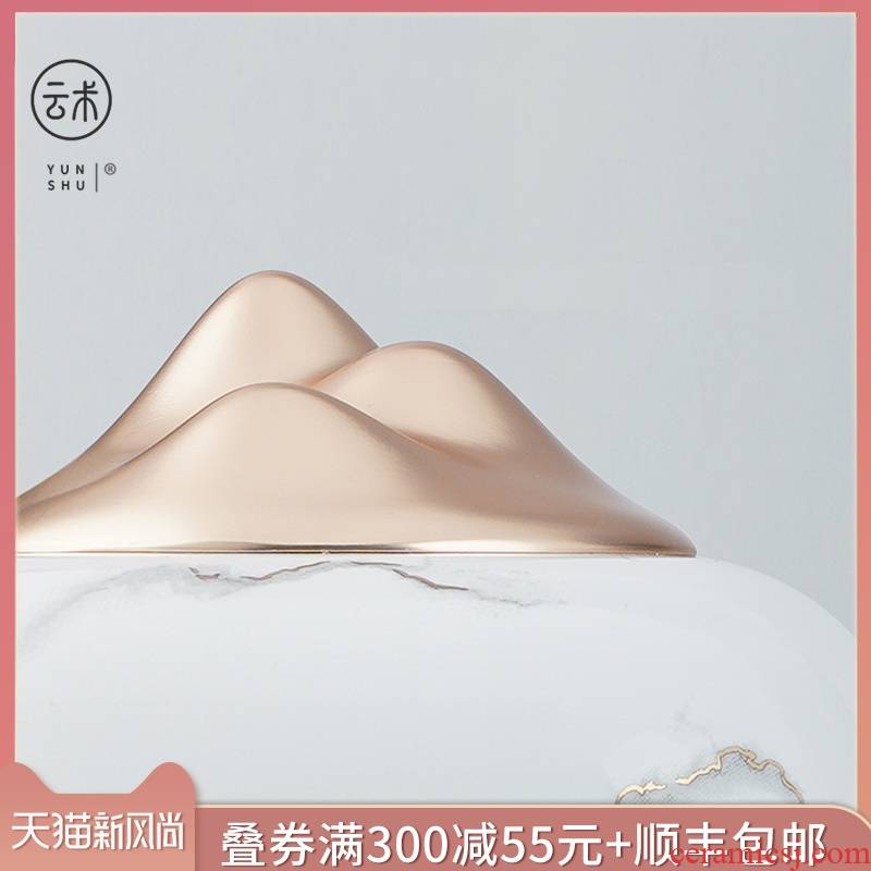 Cloud music art creative move hidden mountain ceramics picked tea pet furnishing articles furnishing articles can raise tea tea tea