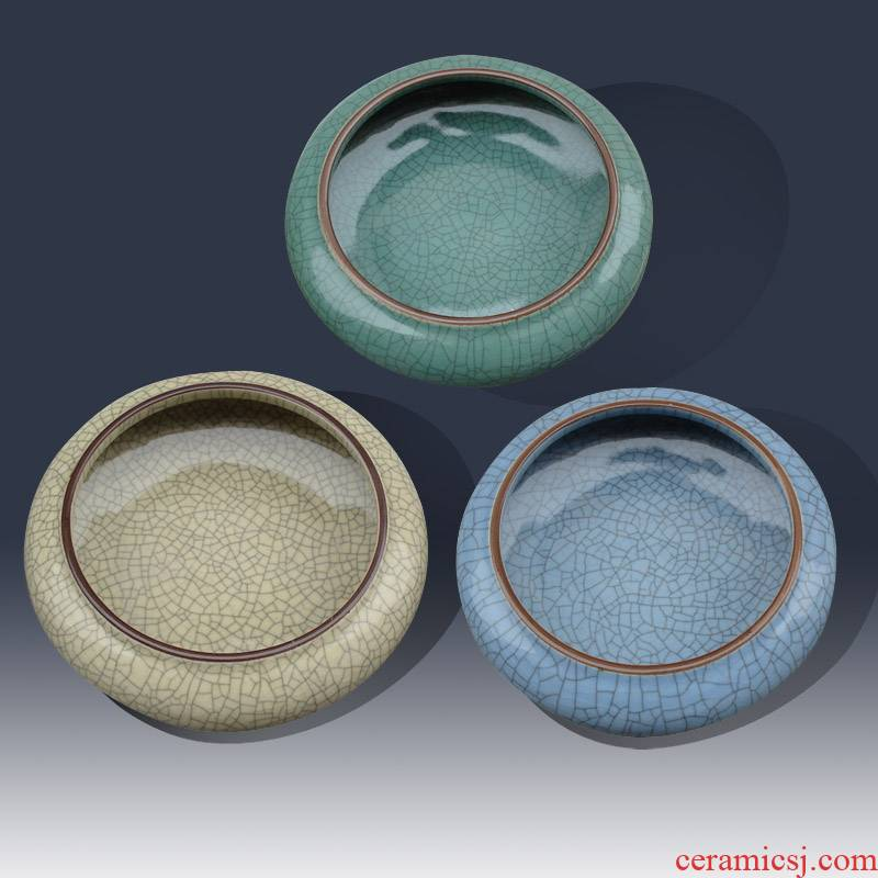 Jingdezhen classical writing brush washer from the open crack porcelain pieces of small writing brush washer archaize classical porcelain glaze porcelain small bowl