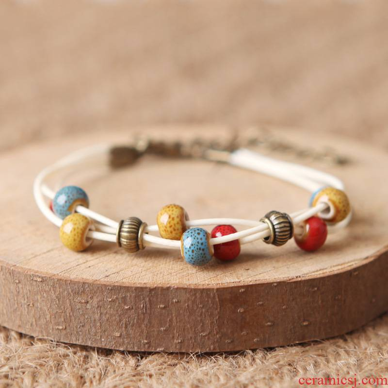 QingGe pink 'is a new ceramic bracelet manual has art bracelet to small act the role of a stalls sources