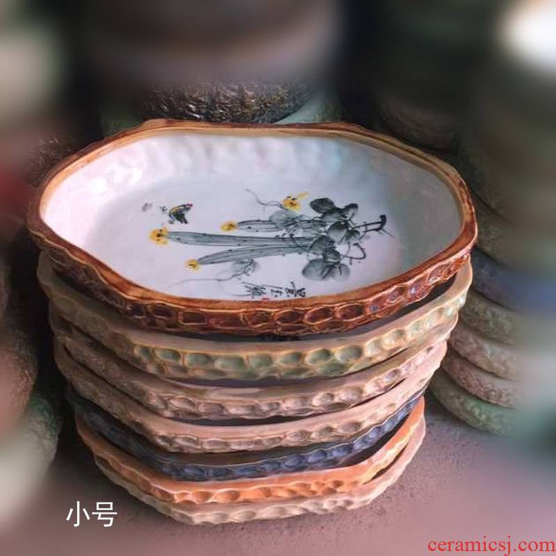 Jingdezhen porcelain porcelain refers to basin of rectangular shaped China refers to flower pot China basin