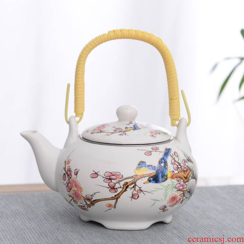 The Personal of blue and white porcelain cup double insulation cup pot is not hot ceramic bowl tea tray was kung fu tea cups