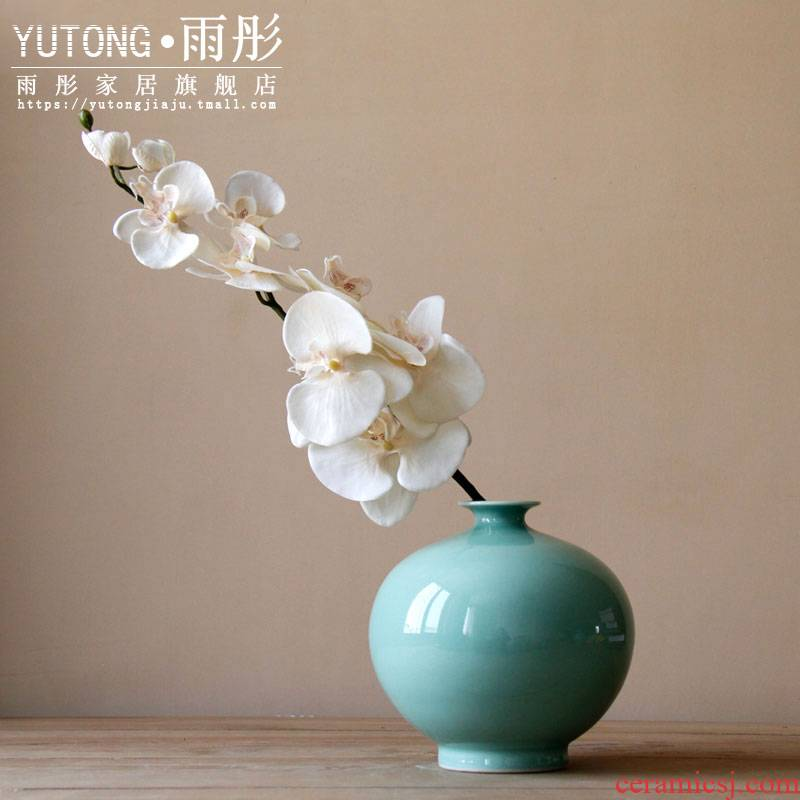 Open to booking a creative fashion I and contracted sitting room furniture furnishing articles home decoration ceramic dry flower, flower, flower receptacle