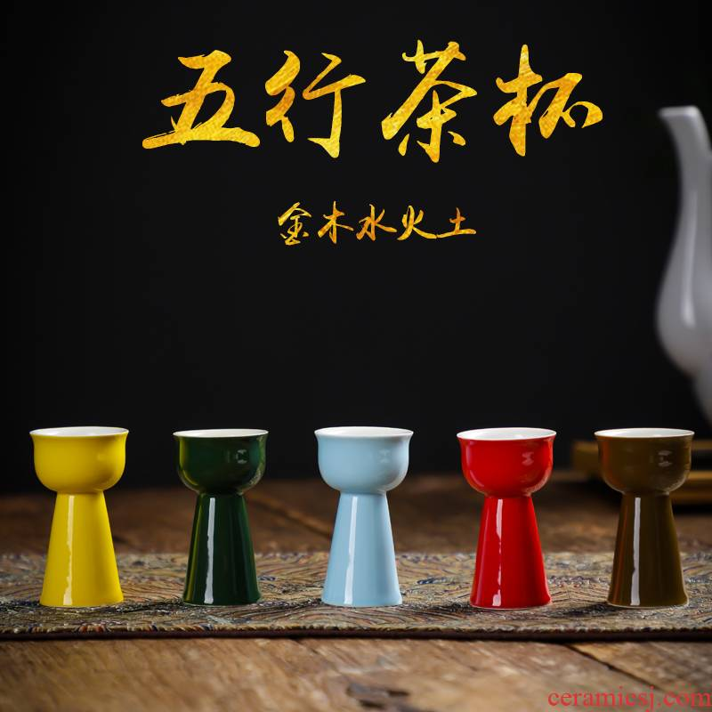 Five lines of glass tea set home sitting room a web visitor office tea, black tea kungfu ceramic cups