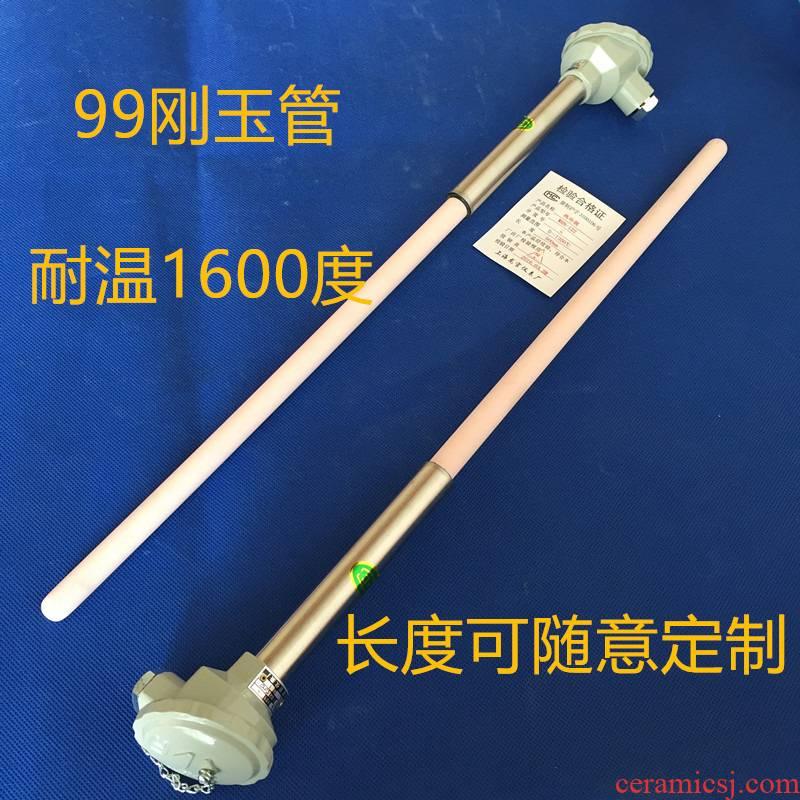 High - product corundum tube K type High temperature ceramic thermocouple WRN - 130-0-1300 degrees temperature sensor temperature measuring probe