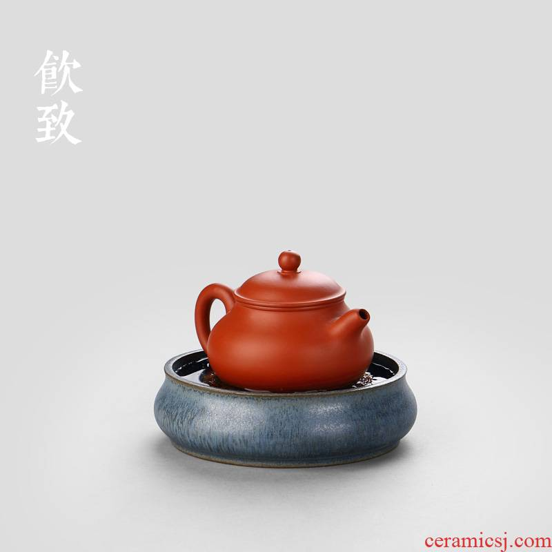 Pot bearing ceramic small coarse TaoGan mercifully Taiwan Japanese water tea storage type restoring ancient ways are it a Pot Pot pad