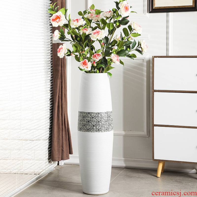 Gagarin ground vase large Nordic I and contracted household adornment is placed in the sitting room porch ceramic vase