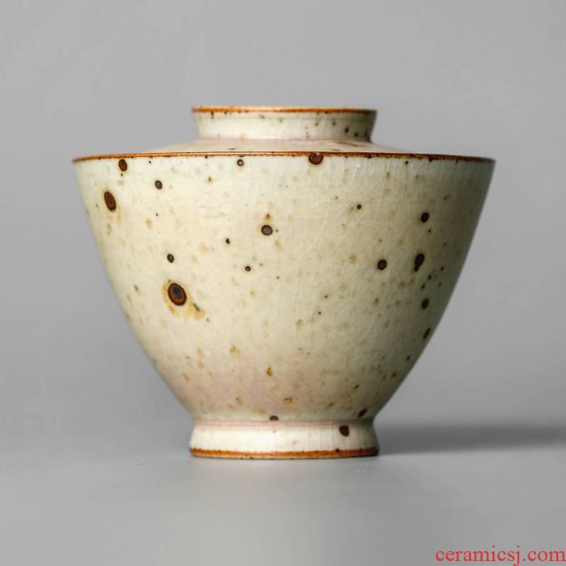 Tureen tea cup no more hot jingdezhen pure manual, no tea bowl large up household kung fu tea set