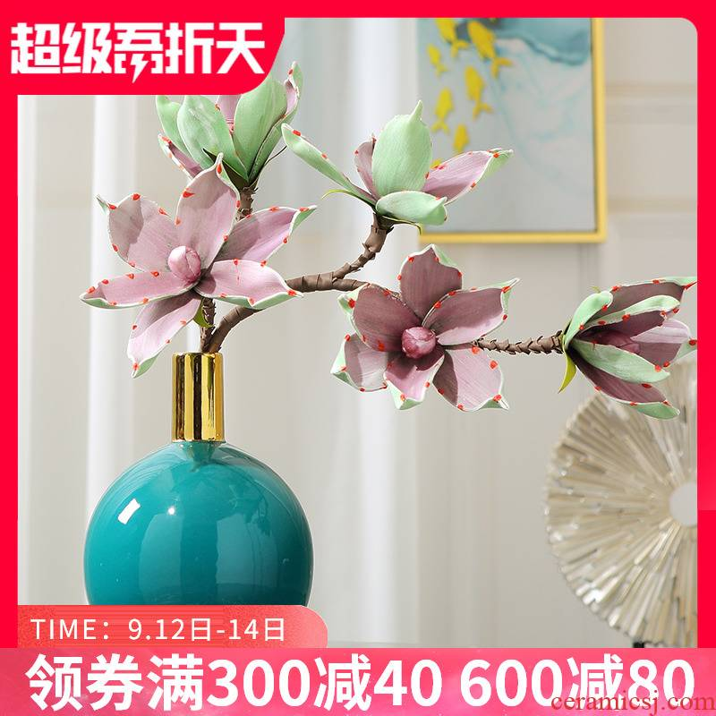 Modern light and decoration ceramics floret bottle sitting room of TV ark, wine porch desktop furnishing articles flower arranging, home decoration