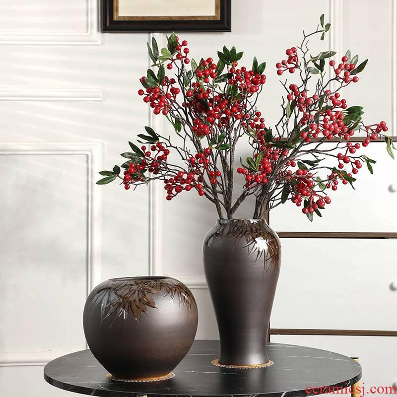 Gagarin ceramic vase mesa European - style originality desktop vase vase suit I and contracted household adornment