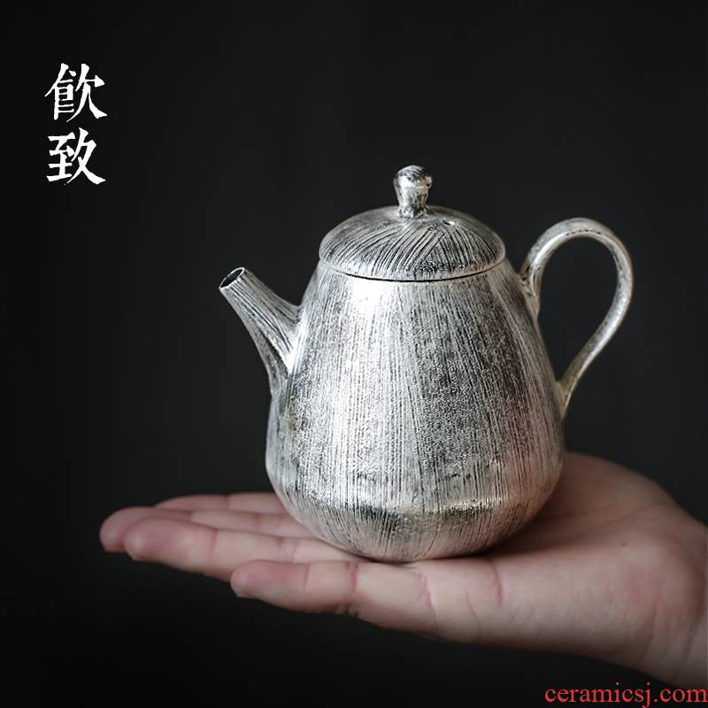 Ultimately responds to all hand coppering. As silver teapot ceramic brush silver teapot retro bag belt filter tea pot of household