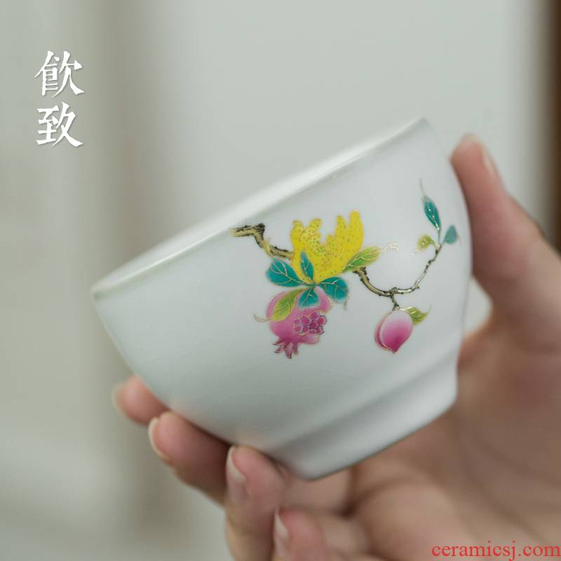 Ultimately responds your up to paint a single large cups personal master cup can keep tea sample tea cup ceramics slicing single CPU