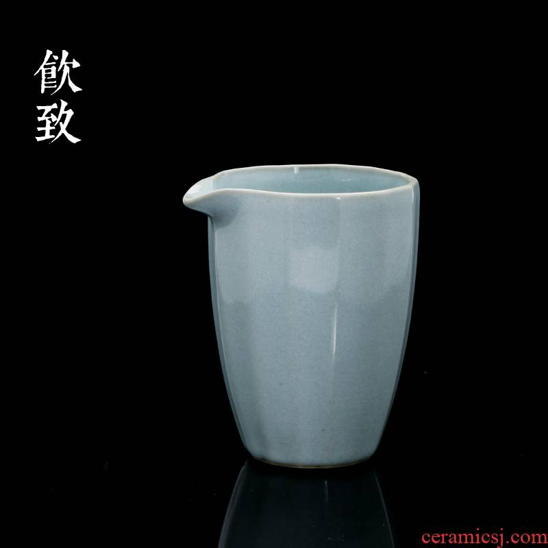 Ultimately responds to up water just a cup of tea ware jingdezhen ceramic points a single piece of sea ice crack antique tea for
