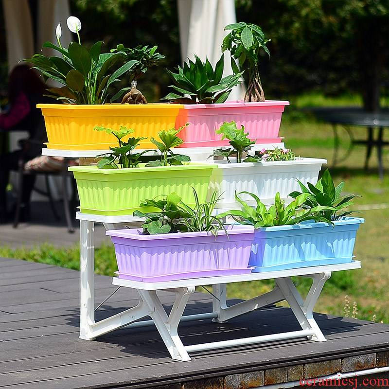 Large with planting grail flowerpot with thick plastic box tray of food basin of extra Large rectangle ceramic dishes