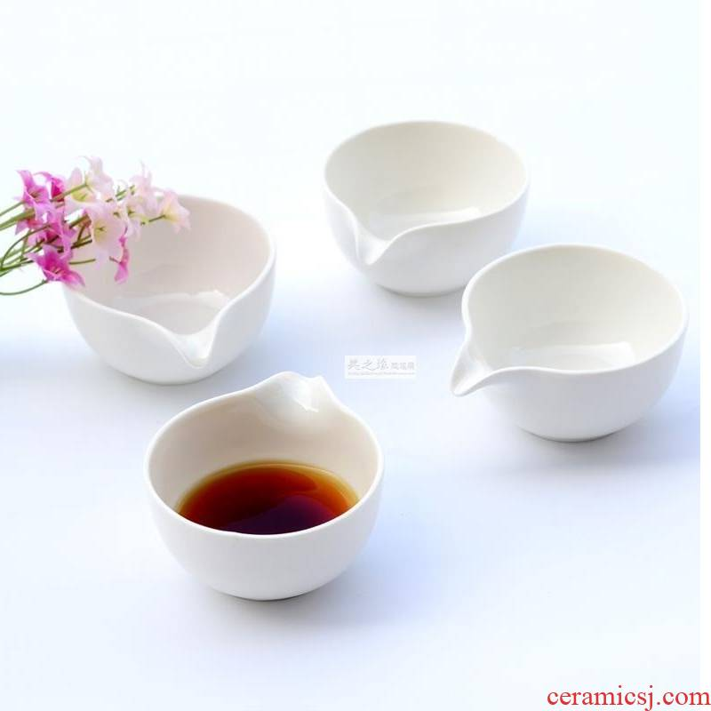 Expressions using of the bowl with drainage of household porcelain dip bowl restaurant food dish children small bowl bowl juice dou pure white