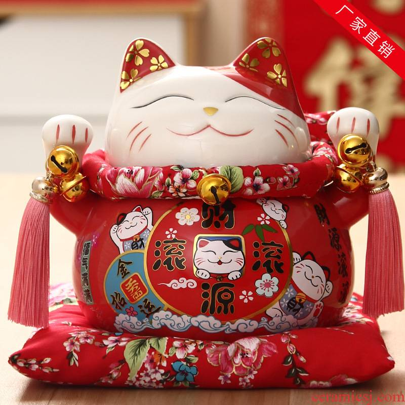 Plutus cat large furnishing articles furnishing articles piggy bank shops the opened creative gift household ceramics decoration
