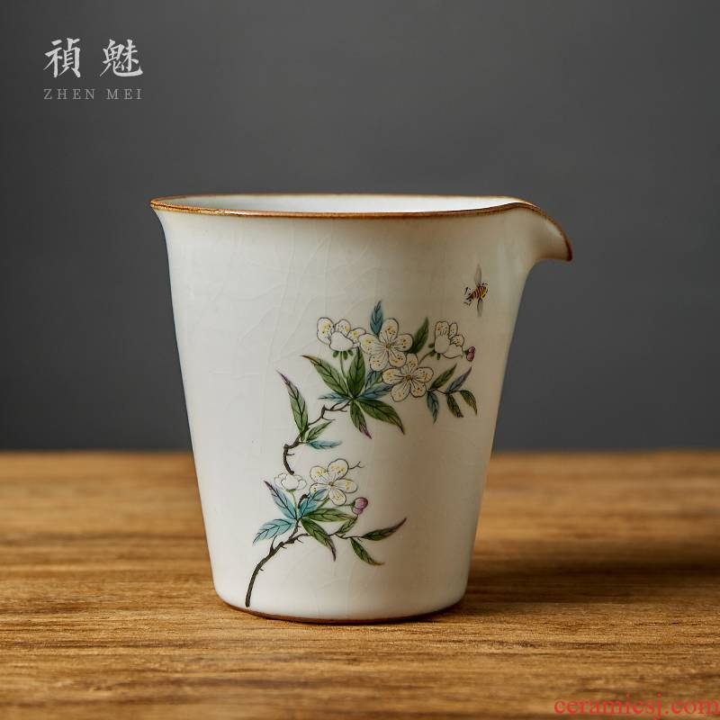 Shot incarnate your up hand - made slicing large jingdezhen ceramic fair keller kung fu tea accessories tea sea points