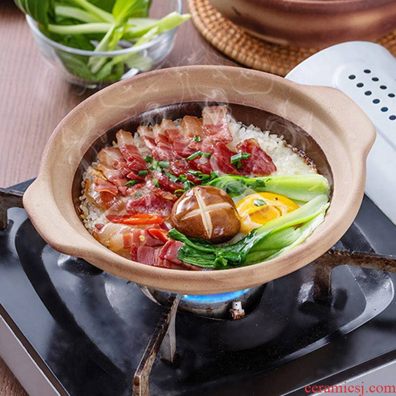 Special pot old clay pot soup rice soup home fire gas gas buner casserole stew hot pot ceramic pot