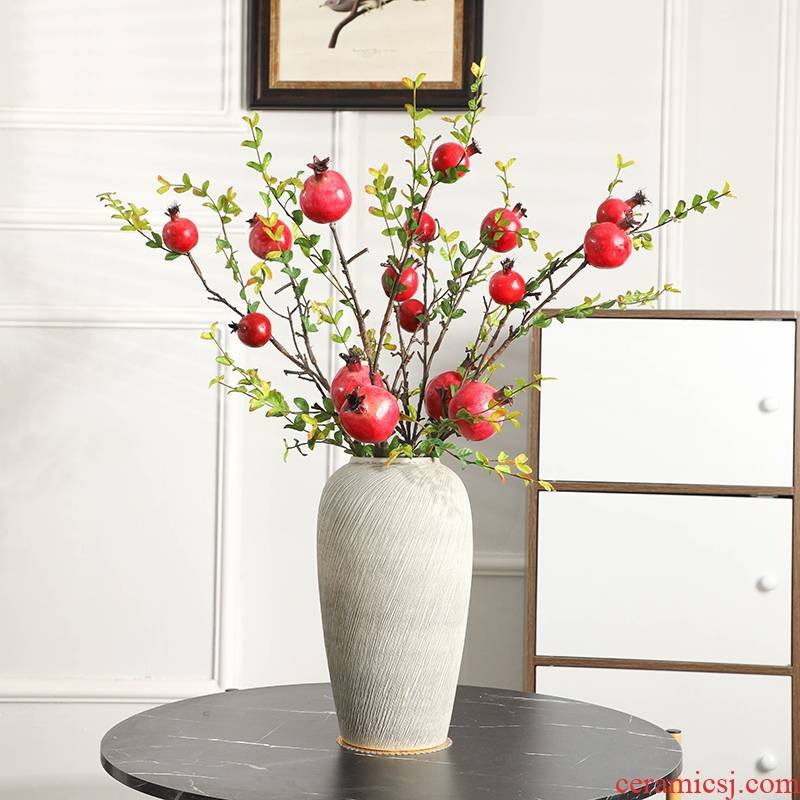 Gagarin ceramic vase mesa I and contracted sitting room TV cabinet decorative flower arrangement suits for the Nordic flower vase