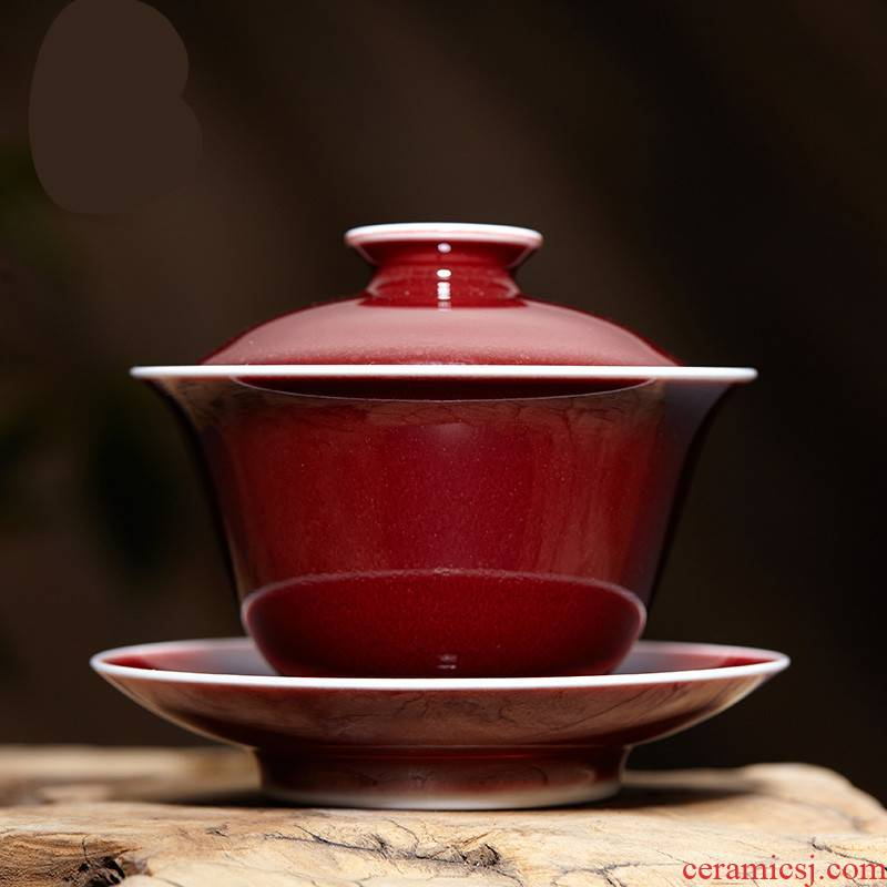 The Poly real boutique scene. Large ceramic cups jingdezhen S11030 kung fu tea set three traditional craft to use