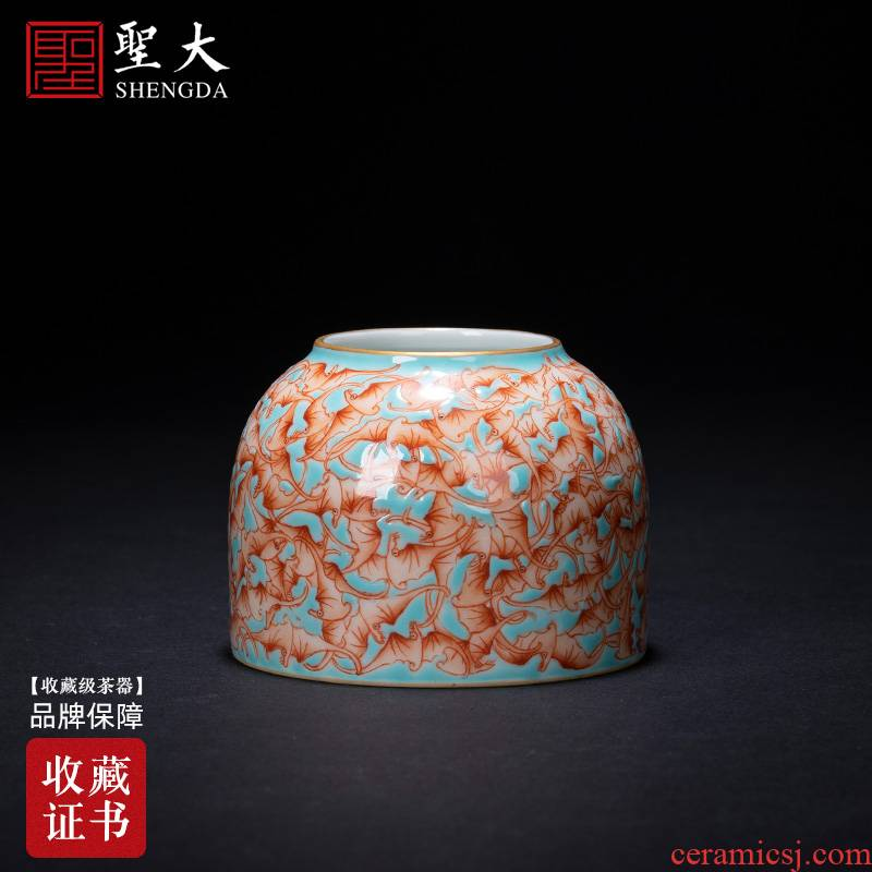 Santa teacups hand - made ceramic kung fu a hoard of green space of buford wsop masters cup sample tea cup jingdezhen tea service