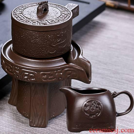 Ya xin violet arenaceous lazy) tea strainer tea strainer semi - automatic kung fu tea tea accessories an artifact
