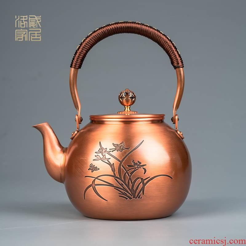 Manual plates kettle household electrical TaoLu tea set teapot single pot boiling kettle girder are contracted tea stove