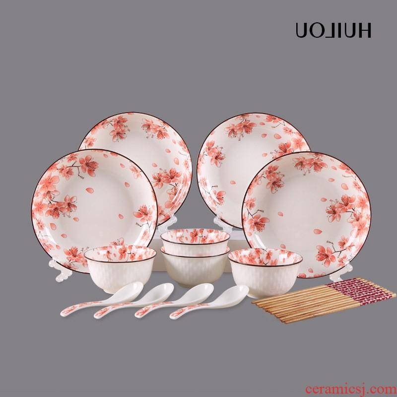 The kitchen ipads porcelain tableware ceramic creative bowl dishes suit custom hotel tableware gift set tableware