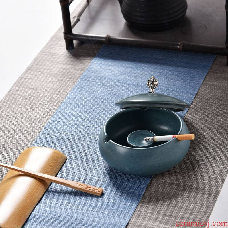 The ashtray creative move tide restoring ancient ways large ceramic decoration home sitting room office furnishing articles