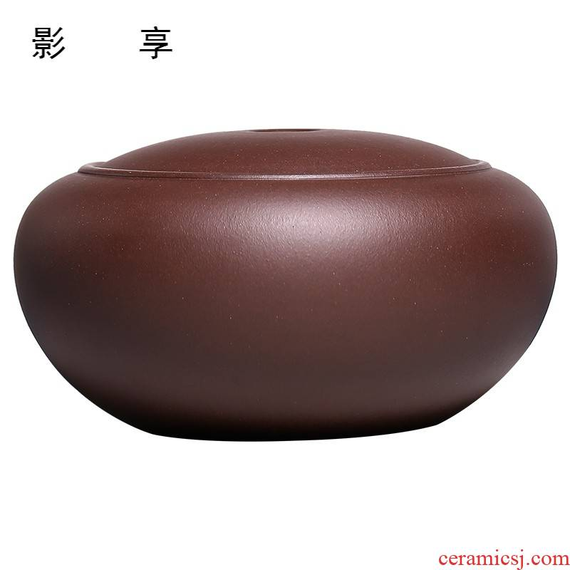 Shadow at yixing purple sand tea pot pu 'er high - quality goods up POTS manual undressed ore purple sand POTS refers to JH