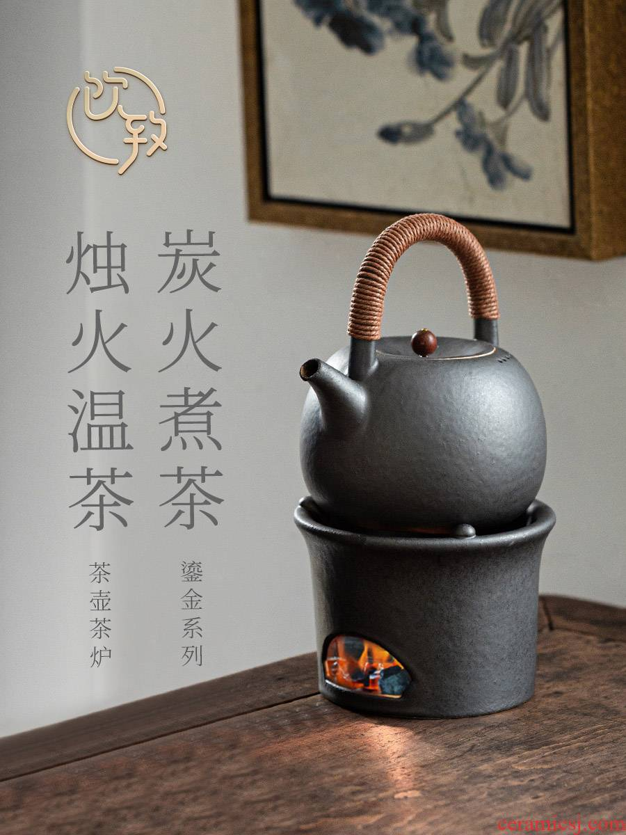Ultimately responds to jingdezhen ceramic teapot tea kettle boil tea special electric heating base TaoLu girder boiling kettle