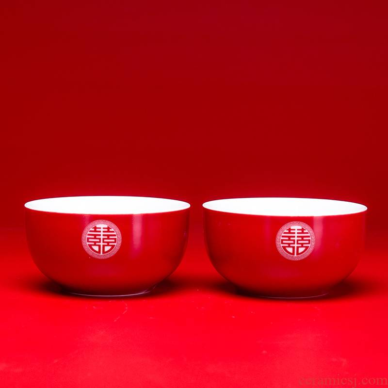 Tureen tea I to suit a change to the bowl cups of red tea set ceramic bowl of tray