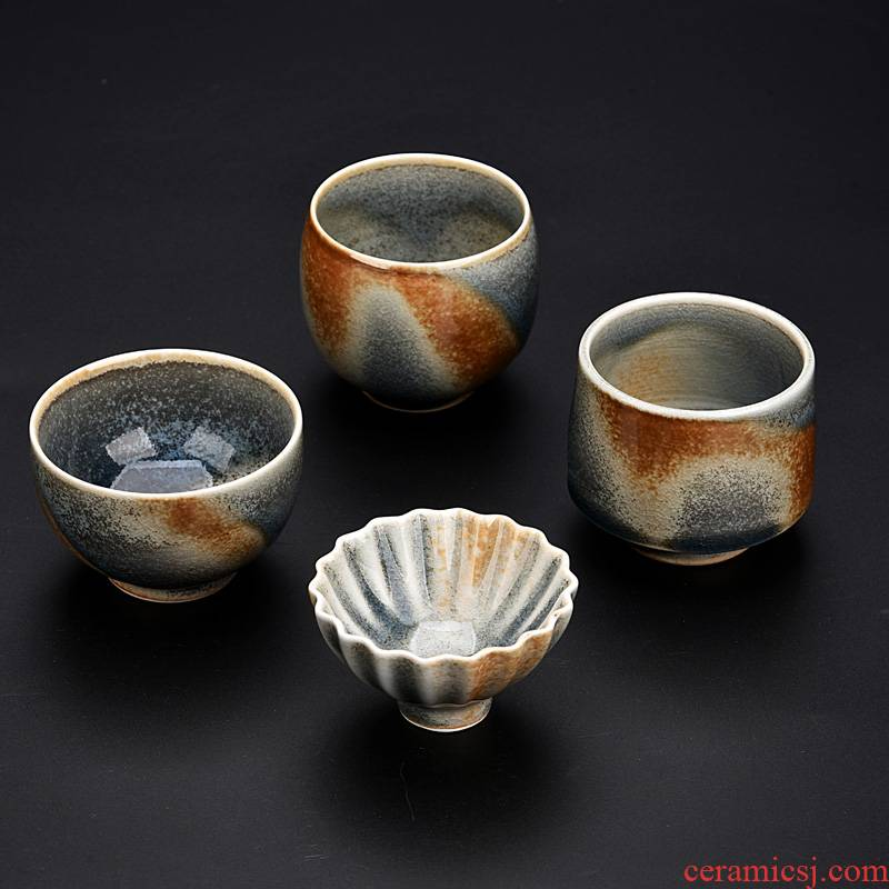 Ancient sheng wood up beaker natural dust dust sample tea cup personal tea cup master cup ceramic cups, teapots