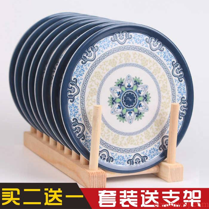Melamine imitation porcelain insulation pad pot mat mat table mat cup mat mat kitchen bowl bowl heat eat mat plate mat sand pot pad